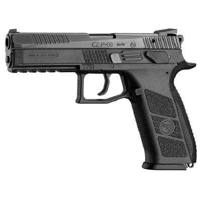 Pistol CZ P-09, manuel safety+decocker, 9 mm