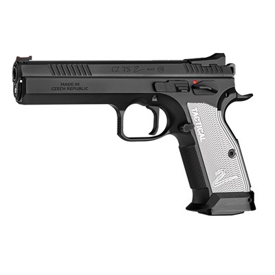 Pistol CZ Tactical Sports 2, 9 mm, Svart