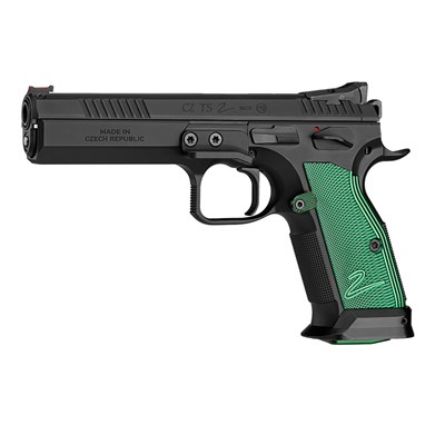 Pistol CZ Tactical Sports 2, 9 mm, Racing Green