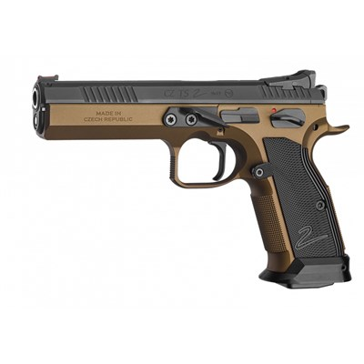 Pistol CZ Tactical Sports 2, 9 mm, Deep Bronze