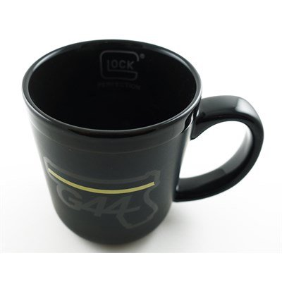 Mugg, Glock G44 black/yellow