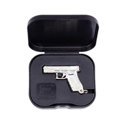 Nyckelring GLOCK Gen4 silver plated w/ box