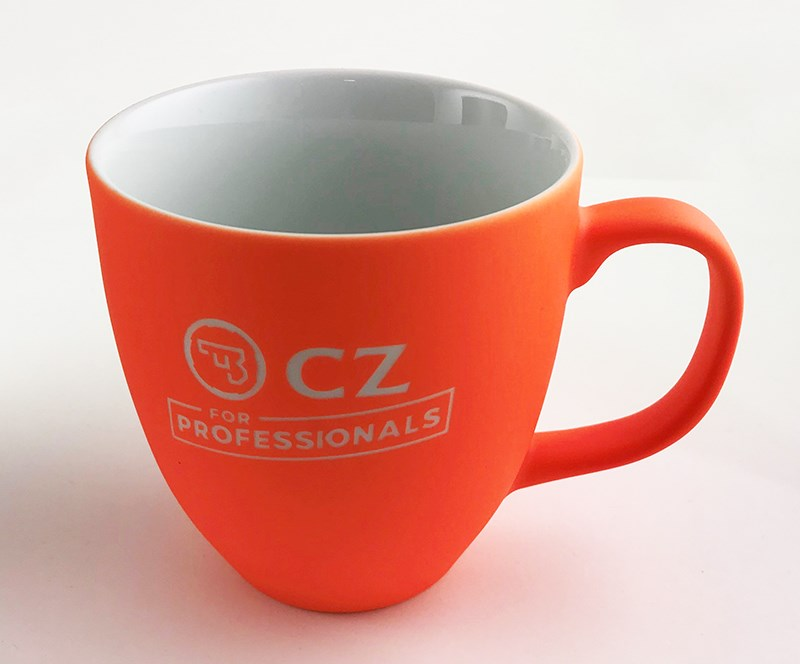 CZ mugg, orange