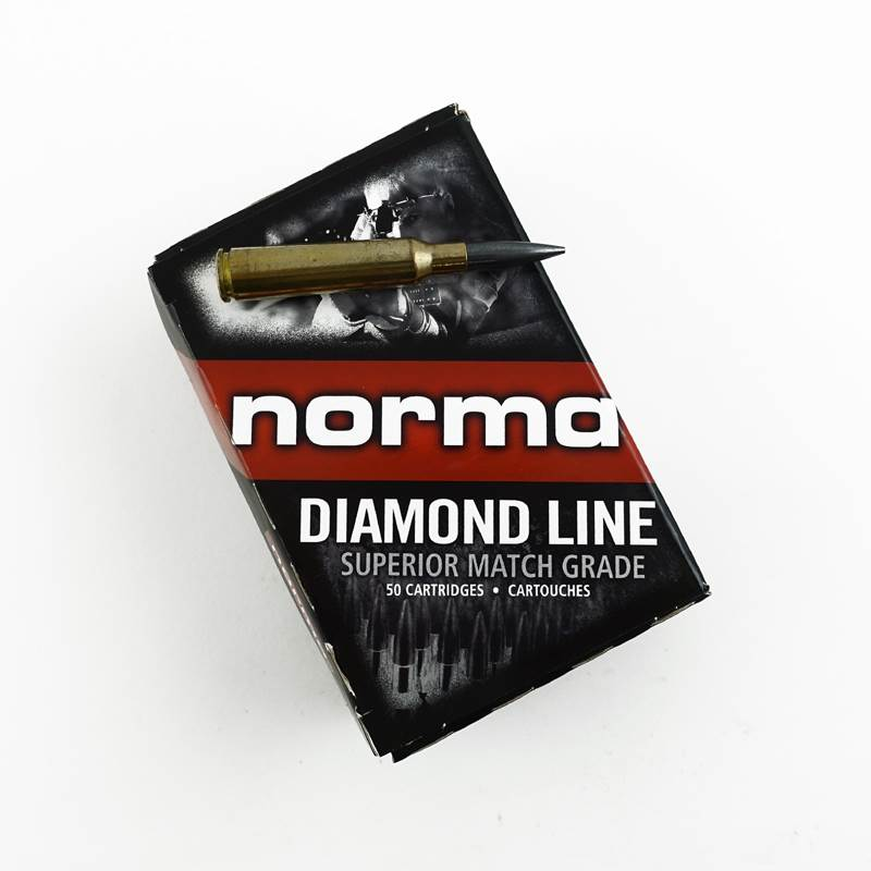 6.5x55 Fält Ammunition Diamond Line Patron Norma Match