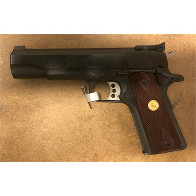 Pistol Colt National Match Gold Cup Series 70, .9mm, blånerad