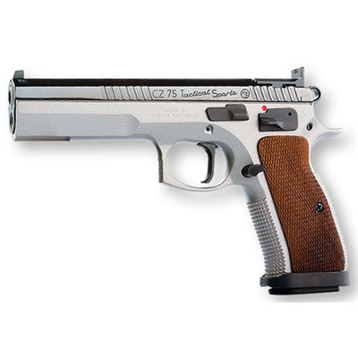 Pistol CZ 75 Tactical Sports 9 mm, A-tryck.