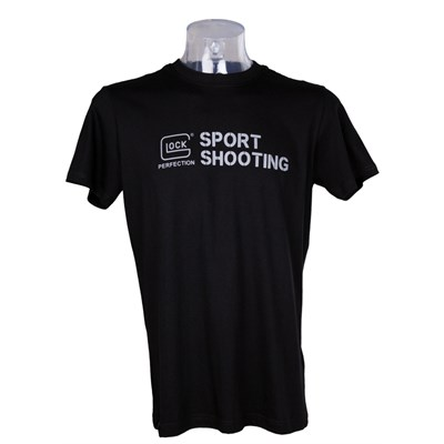 T-shirt Glock Sports Men Kort ärm vit  XXL