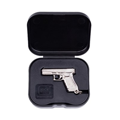 Nyckelring GLOCK Gen4 nickel plated w/ box